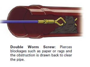 Double worm screw Image