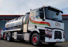 Crossland stainless steel vac tanker