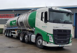Another new tanker for Ormonde Organics